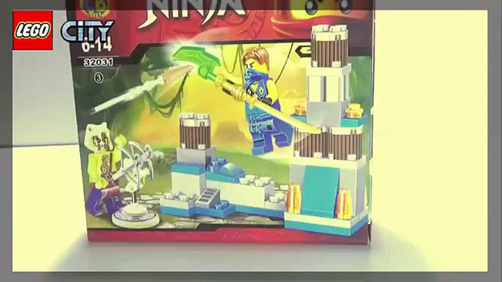 Assembling weapons装配武器Lắp ghép vũ khí chiến đấu Lego Ninja cool weapon