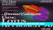 [Download] Using Lotus Approach 96, Special Edition: Version 96 for Windows 95 (Special Edition