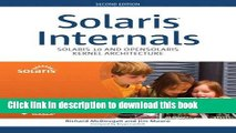 [Download] Solaris Internals: Solaris 10 and OpenSolaris Kernel Architecture (paperback) (2nd