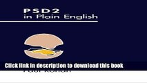 PSD2 in Plain English (Payments Landscape for Non-Specialists) (Volume 1) For Free