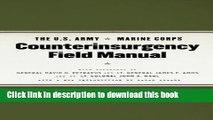 [Popular] Books The U.S. Army/Marine Corps Counterinsurgency Field Manual Free Online