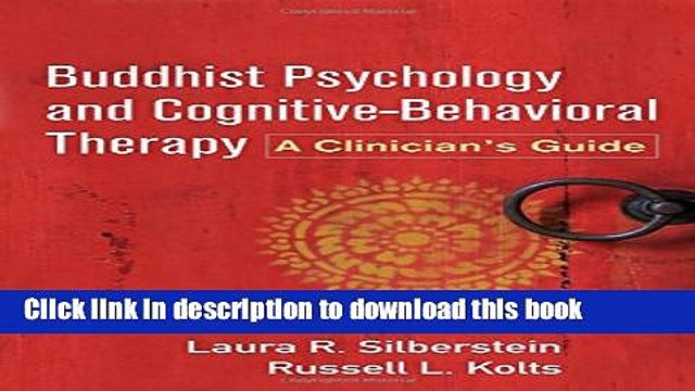 [Popular] Buddhist Psychology and Cognitive-Behavioral Therapy: A Clinician s Guide Paperback Online