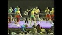 Midnight Express/Ernie Ladd vs Rock and Roll Express/Jim Duggan (Mid South 1985)