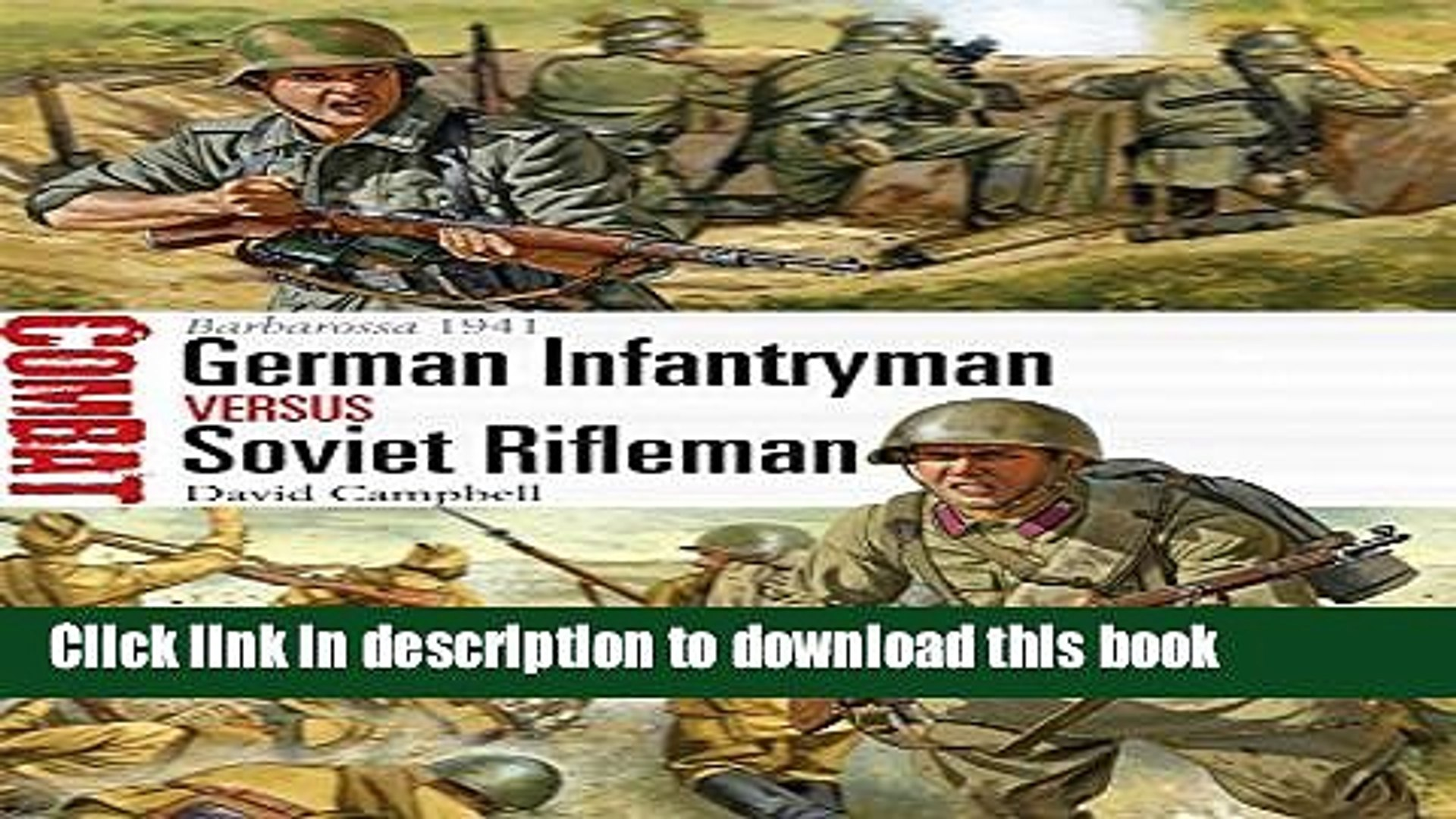 [Popular] Books German Infantryman vs Soviet Rifleman: Somme 1916 Full Download