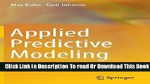 [Popular] Applied Predictive Modeling Hardcover Collection