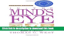 [Popular] In the Mind s Eye: Visual Thinkers, Gifted People With Dyslexia and Other Learning