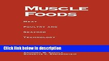 [PDF] Muscle Foods: Meat Poultry and Seafood Technology Book Online
