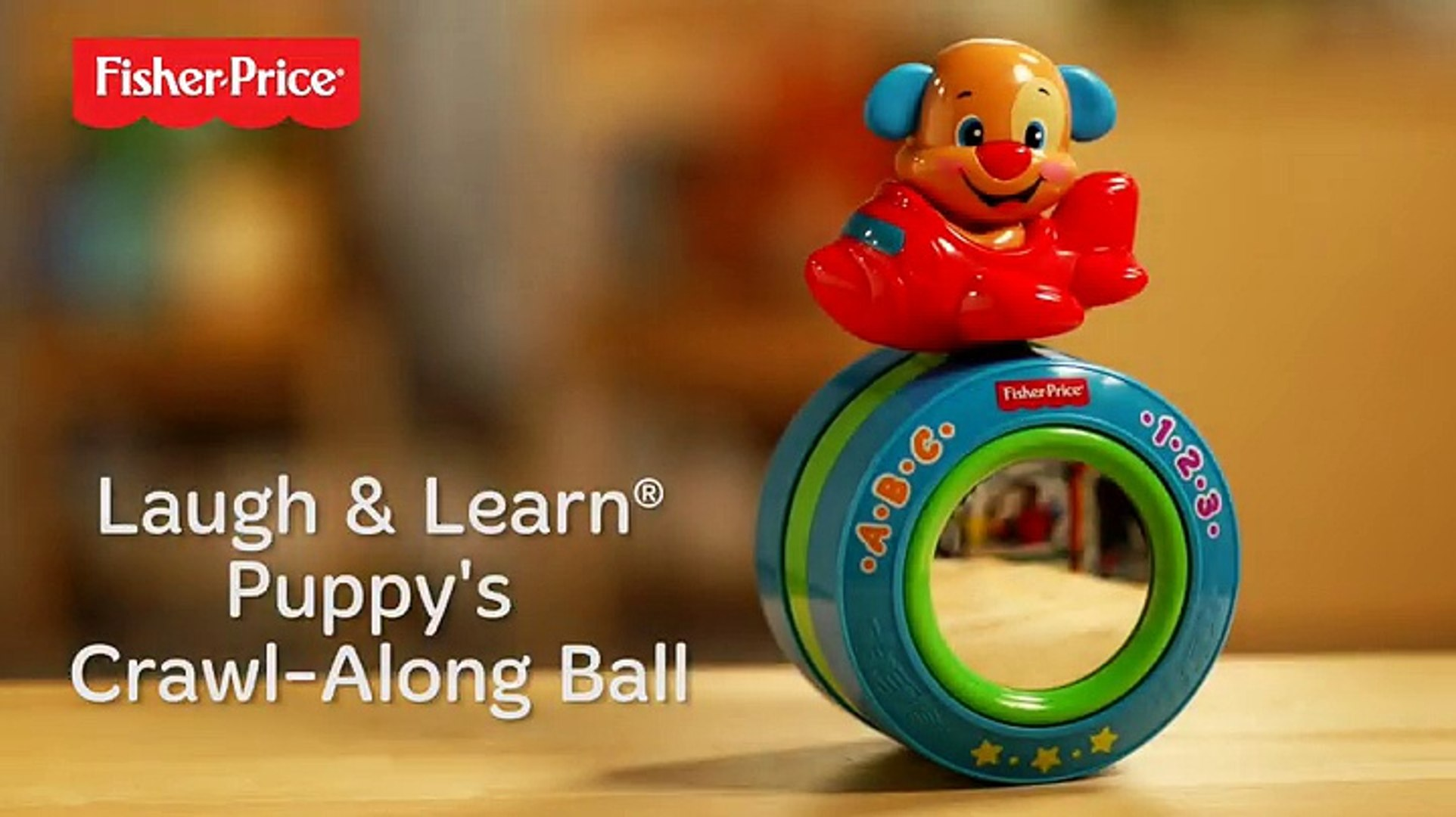 Fisher Price Laugh Learn Puppy S Crawl Along Ball