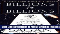 [Popular] Billions   Billions: Thoughts on Life and Death at the Brink of the Millennium Hardcover