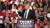 Donald Trump Mocks Hillary Clinton Emails, Fort Lauderdale, Fl, 8/10/16