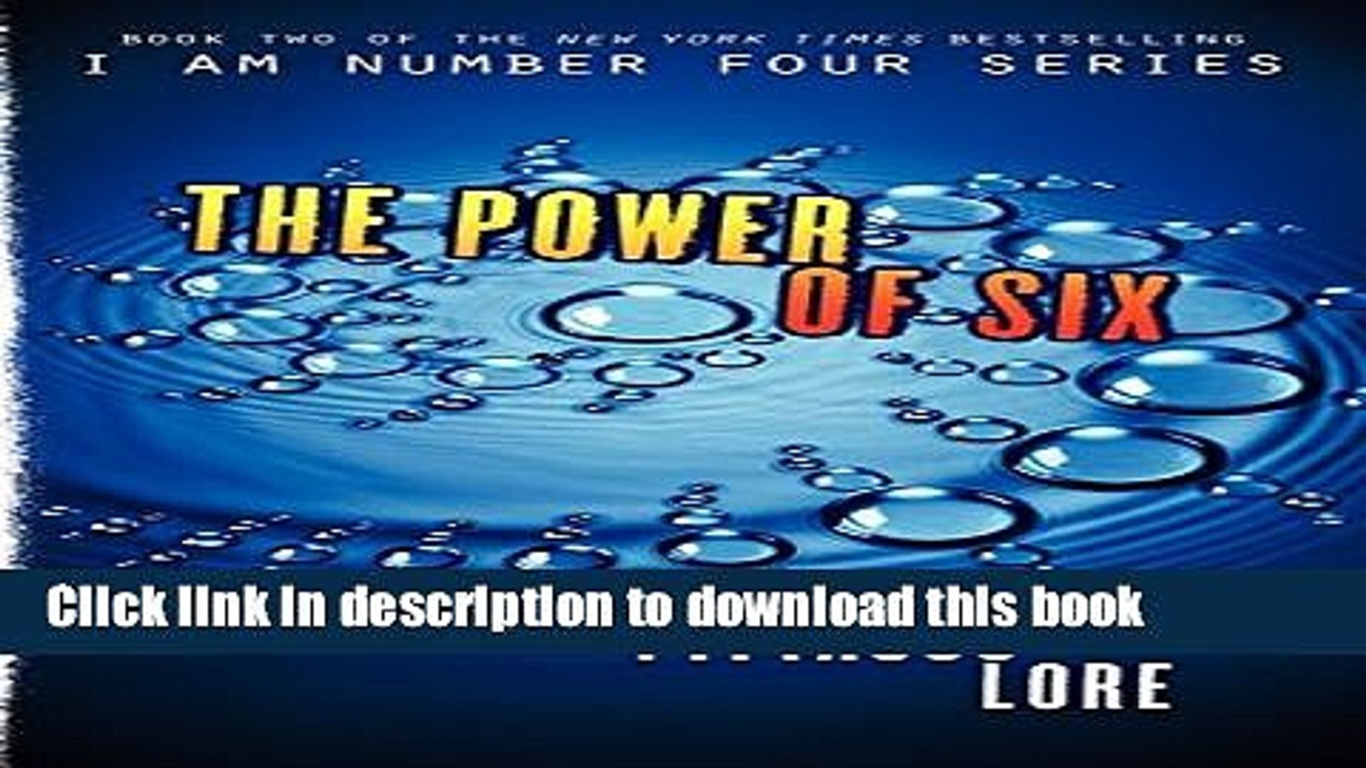 [Download] The Power of Six (Lorien Legacies, Book 2) Paperback Free