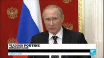"""Russie : Vladimir Poutine accuse l'Ukraine d'envoyer des """"saboteurs-terroristes"""" et des commandos en Crimée"""