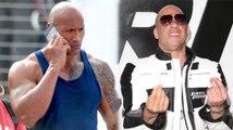 """Dwayne """"The Rock"""" Johnson essaie de régler ses différents avec Vin Diesel"""