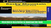 [Popular Books] Best Easy Day Hiking Guide and Trail Map Bundle: Rocky Mountain National Park