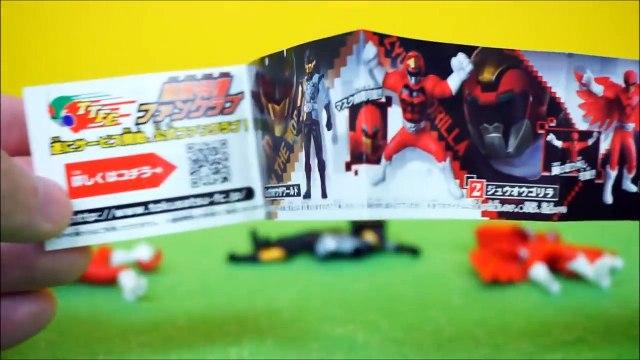 파워레인저 애니멀포스 이글 고릴라 더월드 피겨 3종 동물전대 쥬오우쟈 장난감 Power Rangers Animal Force - Eagle, Gorilla, The World Figure Zyuohger Toys