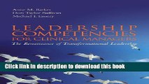 [Popular Books] Leadership Competencies For Clinical Managers: The Renaissance Of Transformational