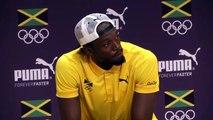 Un journaliste norvégien chante son admiration à Usain Bolt