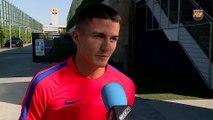 FCB Masia: Palencia, nou capità del Barça B [CAT]