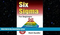 READ book  Six Sigma: Six Sigma For Beginners (Lean Six Sigma, Lean Six Sigma Healthcare, Lean