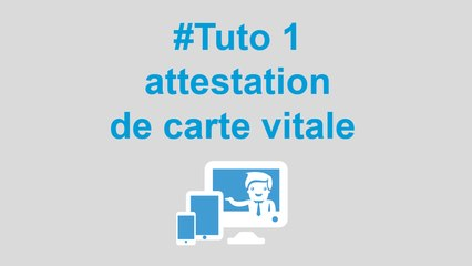Comment Telecharger Mon Attestation De Carte Vitale Ou De Droits Maladie Video Dailymotion