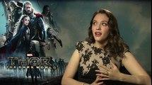 Thor : Le Monde des Ténèbres - Interview Kat Dennings (2) VO