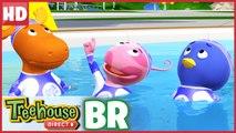 Os Backyardigans Mergulho Sincronizado!   Celebrar o Mundo do Desporto!