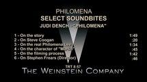 Philomena - Interview Judi Dench (1) VO