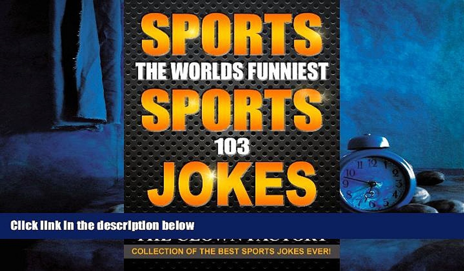 Popular Book SPORTS JOKES - THE WORLDS FUNNIEST SPORTS JOKES