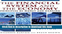 [Popular] Financial System of the Economy: Principles of Money and Banking: Principles of Money