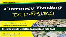 [Popular] Currency Trading For Dummies Kindle Free