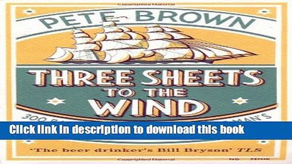 three sheets to the wind brown pete