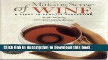 [Popular] Making Sense of Wine (Making Sense Series) Kindle OnlineCollection