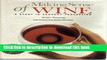 [Popular] Making Sense of Wine (Making Sense Series) Hardcover OnlineCollection