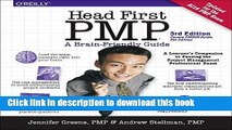 [Popular] Head First PMP Paperback Free