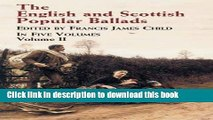 Books The English and Scottish Popular Ballads, Vol. 2 Full Online