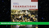 PDF Activity Guide for Foundations of Restaurant Management