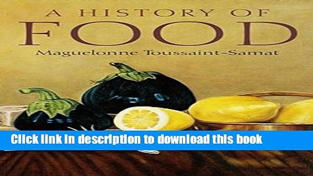 [Popular] A History of Food Paperback Free