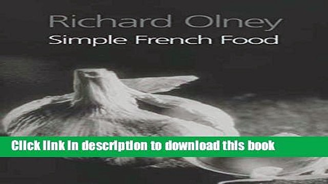 [Popular] Simple French Food Paperback Free