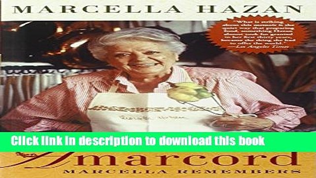[Popular] Amarcord: Marcella Remembers Kindle OnlineCollection