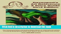 [Popular Books] 2012 Davenport s Art Reference   Price Guide (Davenport s Art Reference and Price