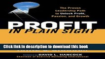[Popular] Profit in Plain Sight: The Proven Leadership Path to Unlock Profit, Passion, and Growth