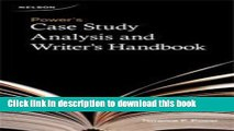 [Download] Power s Case Study Analysis and Writer s Handbook Paperback Collection