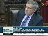 Argentina: Aranguren deberá comparecer al Congreso por tarifazos