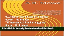 [Download] Corollaries of the Teachings in the Quran: Focusing on effectual conduct deflects the