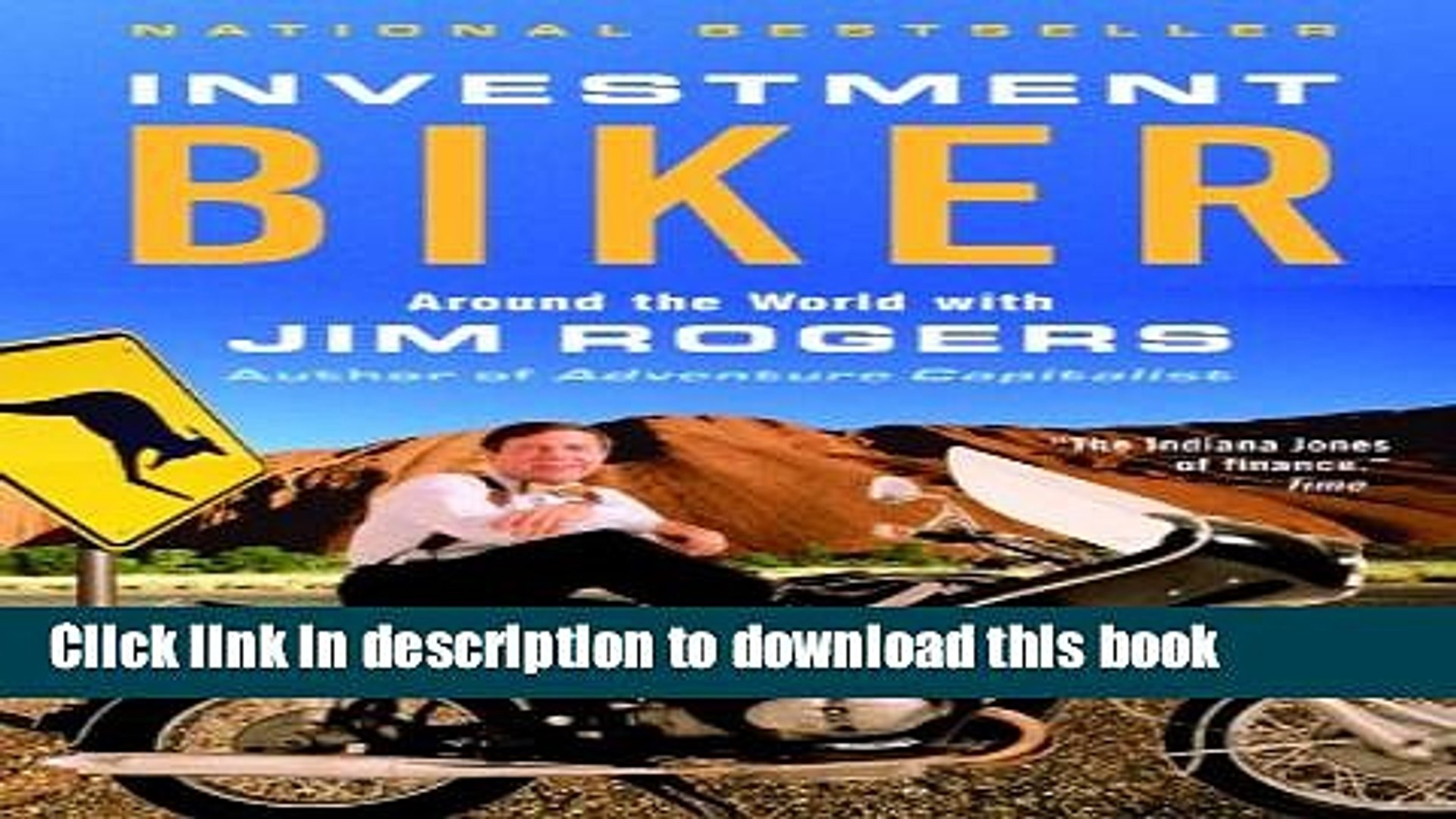 [Popular] Investment Biker: Around the World with Jim Rogers Hardcover Online