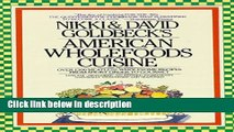 Books American Wholefoods Cuisine: Over 1300 Meatless, Wholesome Recipes from Short Order to