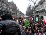 Ambiance manif CPE 7 mars Paris