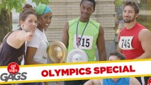Heavy Gold Medal & Olympic Torch Fails - Olympics Edition Prank
