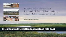 [Popular] Environmental Land Use Planning and Management Hardcover Collection