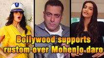 Salman Khan, Sonam Kapoor, Alia Bhatt & More Support RUSTOM   Akshay Kumar